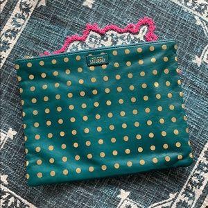 KATE SPADE Saturday Polka Dot Clutch Bag